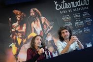 Extremoduro, en la presentación de su gira de despedida
