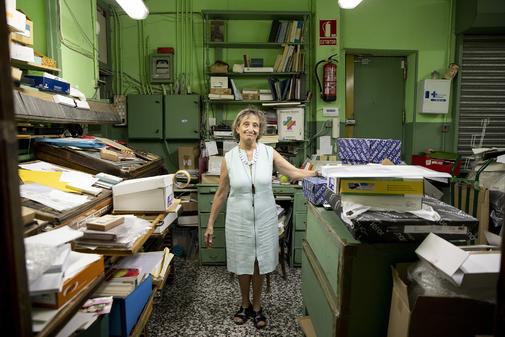En la década de los años 50, la papelería adquirió el local contiguo, donde se instaló la imprenta.