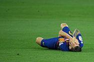 Messi, en el partido ante el Atlético.