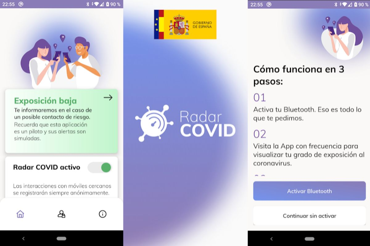 Así funciona Radar COVID, la aplicación contra el coronavirus del Gobierno