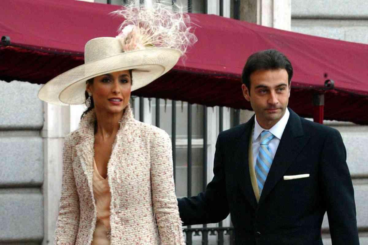 La pareja, en la boda de Don Felipe y Doña Letizia.