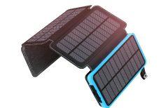 El cargador portátil definitivo: solar, plegable, muy ligero y con linterna