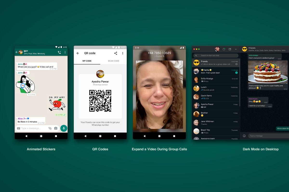 WhatsApp tendrá stickers animados y permitirá añadir contacos mediante QR