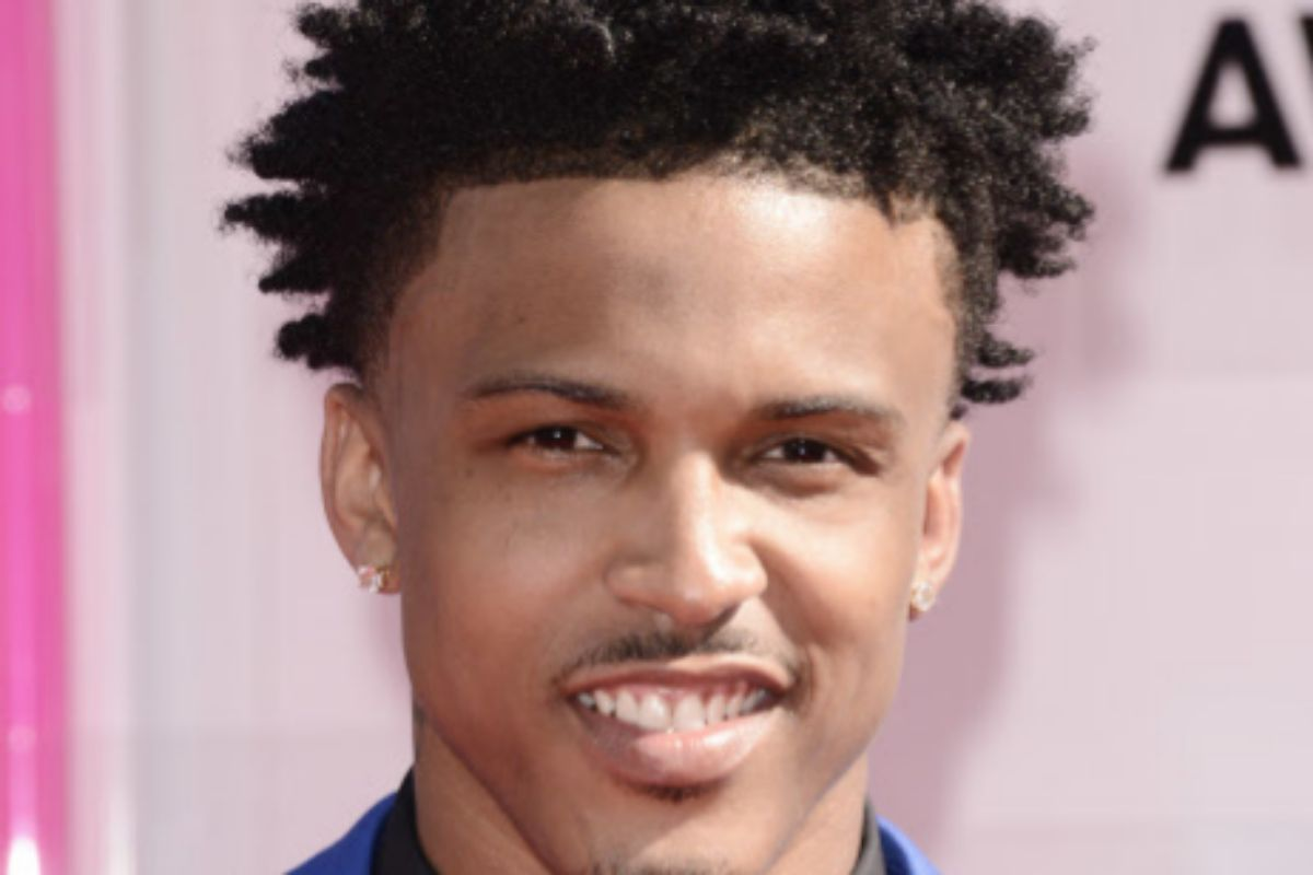 August Alsina, supuesto amante de Jada Pinkett Smith.