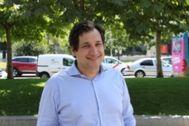 El escritor Elías Cohen, la pasada semana en Madrid.