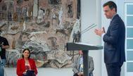 archdc. Madrid, 15 de junio de 2020. El presidente del Gobierno Pedro Sanchez presenta el nuevo Plan de Estimulo a el Automovil. En la imagen: lt;HIT gt;Reyes lt;/HIT gt; lt;HIT gt;Maroto lt;/HIT gt;.