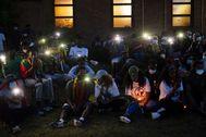 Miembros de la etnia oromo protestan por la muerte a tiros del cantante Hachalu Hundessa.