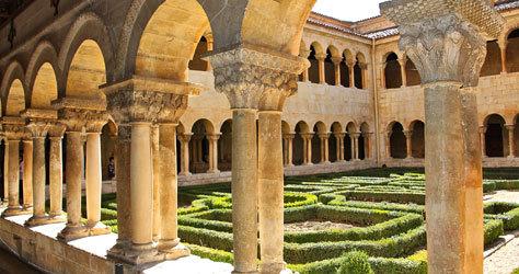 Interior del Monasterio de Santo Domingo de Silos.