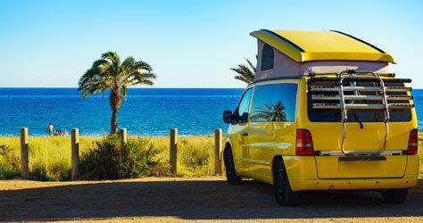 Campings y autocaravanas suman adeptos este año.