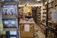 Desperate Literature, librería de Madrid, en sus primeros días de reapertura.