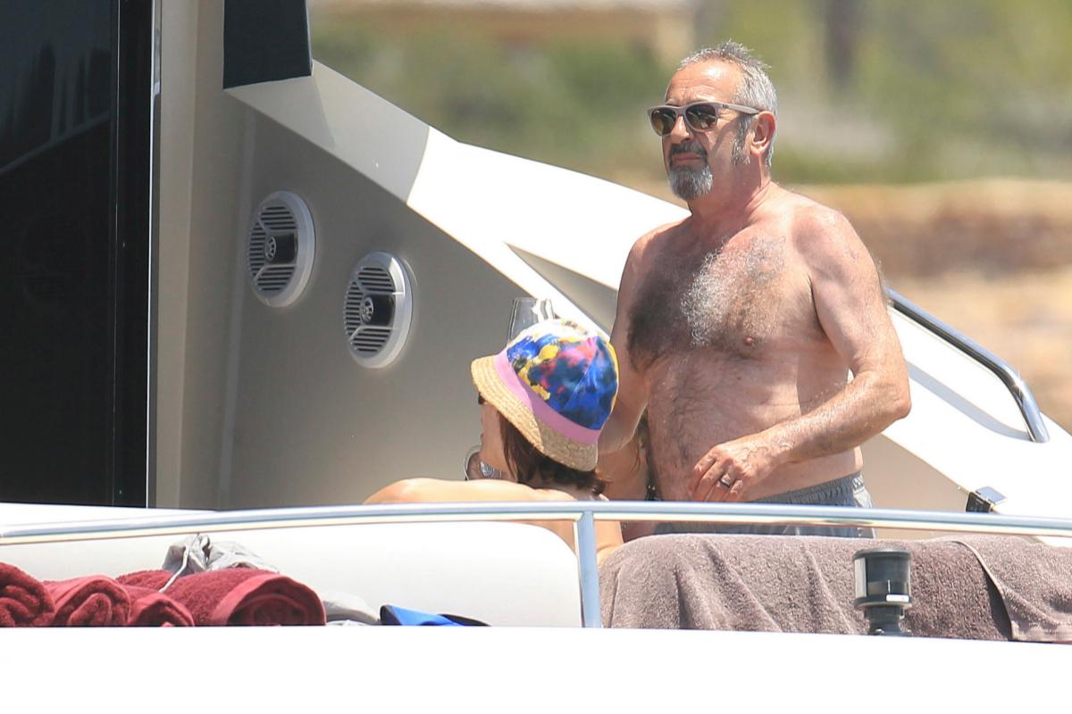 Karlos Arguiñano durante unas vacaciones en Formentera.