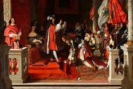 Felipe V ortorga el ducado de Liria al mariscal que venció en la batalla de Almansa