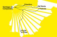 """El Camino de Santiago más introspectivo: """"Se piensa en todo lo que ha sucedido"""""""
