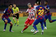 Barcelona - Atletico. lt;HIT gt;Carrasco lt;/HIT gt;. 30/06/2020