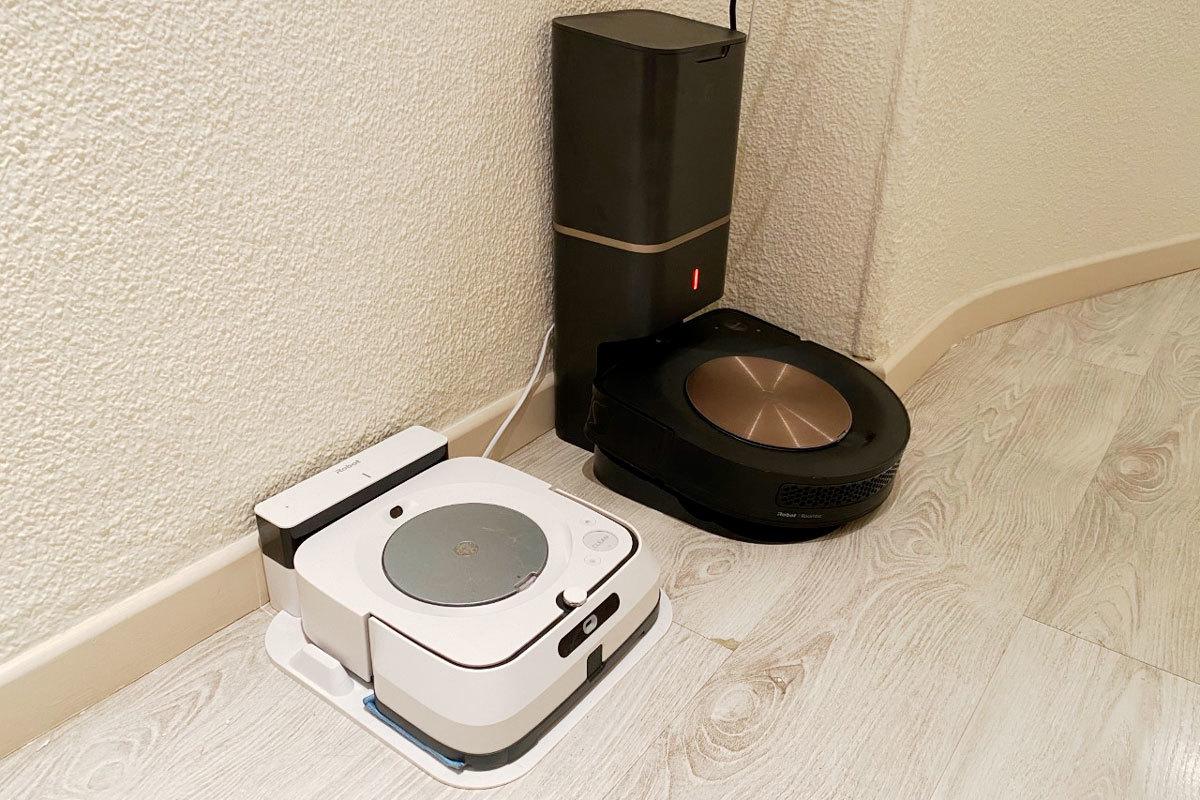 El Roomba i9+ es el mejor robot aspirador del mercado, pero su compañero que friega es mejorable