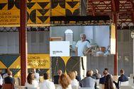 Acto que reunió a todos los representantes del diseño en La Marina.