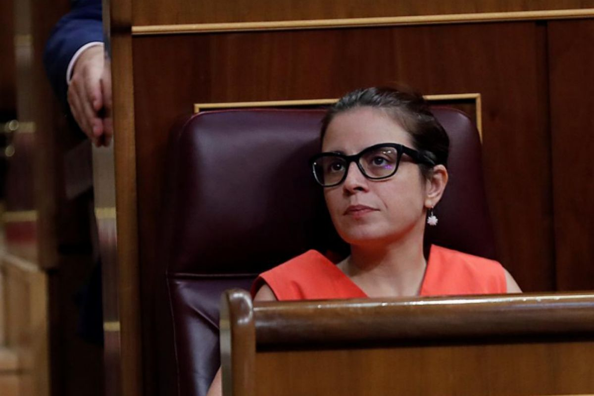 Adriana Lastra, portavoz socialista en el Congreso.