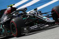 Valtteri Bottas, durente los entrenamiento del GP de Austria.