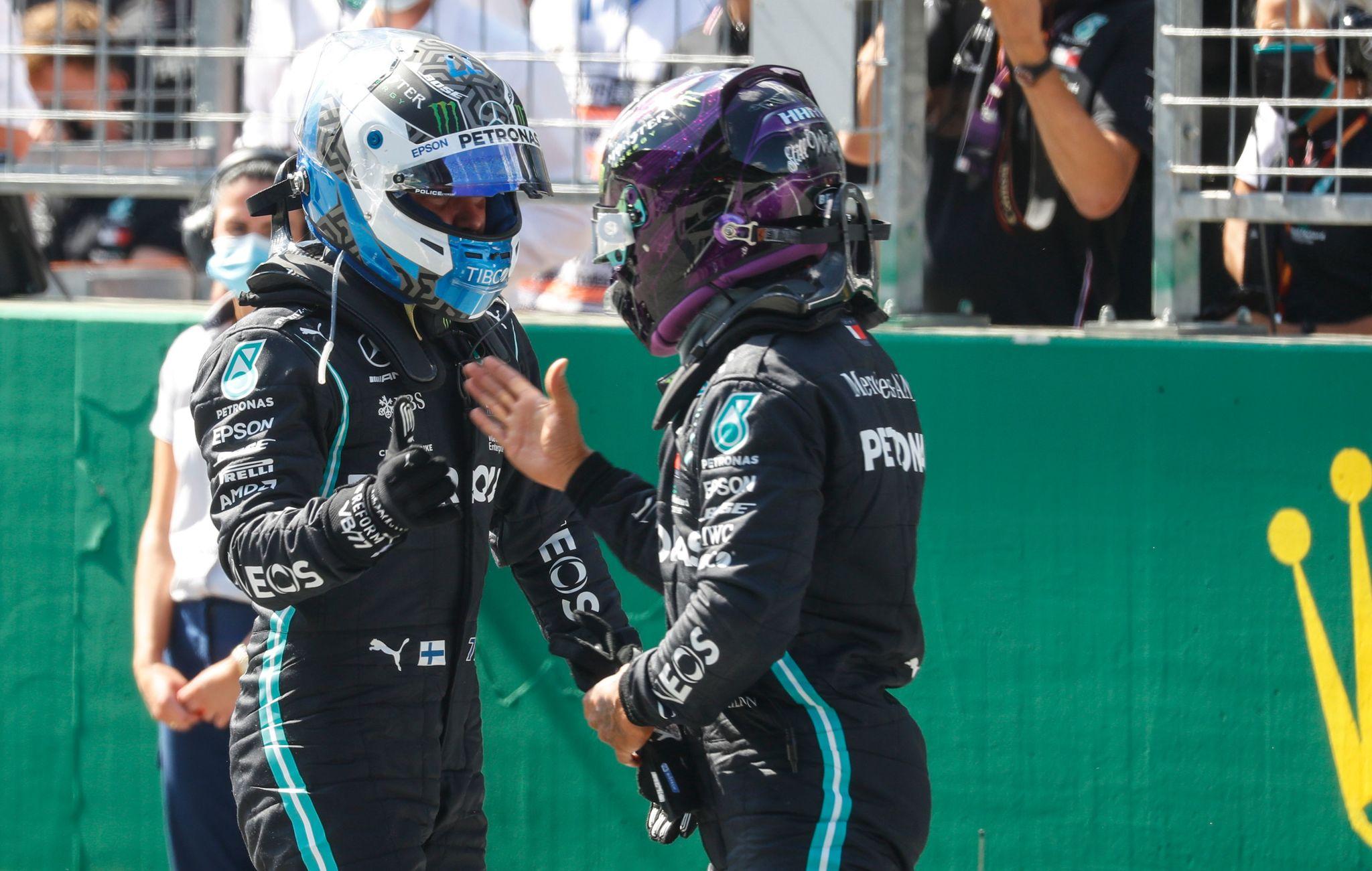 Bottas lidera el doblete de Mercedes en Austria, mientras Vettel se derrumba