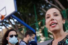 Patricia Hernández, alcaldesa de Santa Cruz de Tenerife, el pasado lunes.
