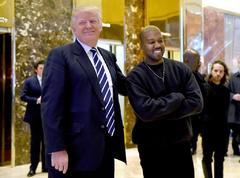 Encuentro entre el rapero y Trump pocos días después de las elecciones de 2016.