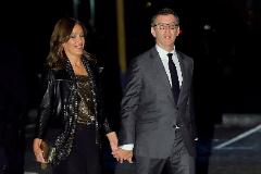 El presidente de la Xunta y líder del PP gallego, Alberto Núñez Feijóo y su pareja Eva Cárdenas.