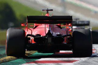 La 'nueva anormalidad': Ferrari, el más lento en las rectas