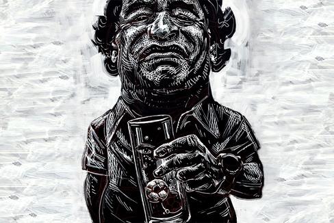 """El nuevo descenso de Maradona a los infiernos: """"Sólo quiero que mi papá viva"""""""