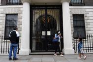 Embajada de China en Londres, el 2 de julio.