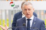 El candidato a la reelección por el PNV, Iñigo Urkullu.