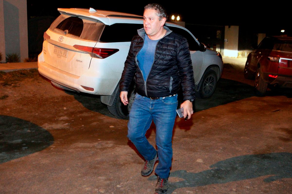 Fabián Gutiérrez, ex secretario de Cristina Kirchner, en una imagen de archivo.