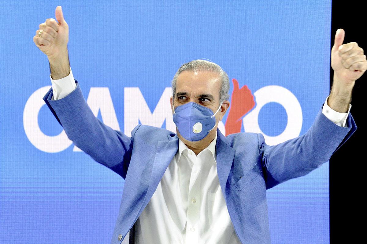 El opositor Luis Abinader, ganador de las presidenciales de República Dominicana.