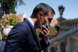 Spanish PM lt;HIT gt;Sanchez lt;/HIT gt; meets Portuguese PM Costa at Sao Bento Palace, in Lisbon