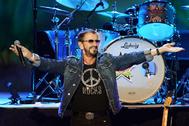 Ringo, durante un concierto con su All-Starr Band, en 2019.