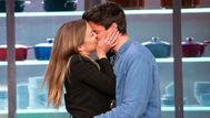 El esperado beso de Luna y Alberto en la final de MasterChef 8