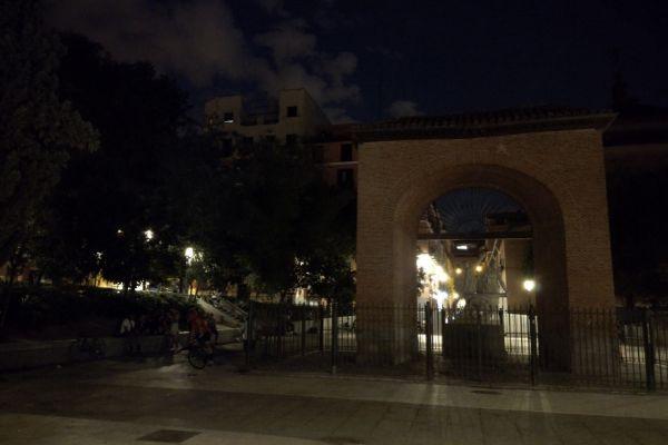 Foto nocturna sin modo noche