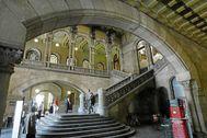 Imagen del Palacio de Justicia sede del TSJC en Barcelona