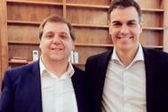 Serrano y Sánchez, amigos desde las primeras primarias del hoy presidente.