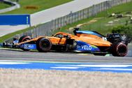 Carlos Sainz, durante el Gran Premio de Austria.