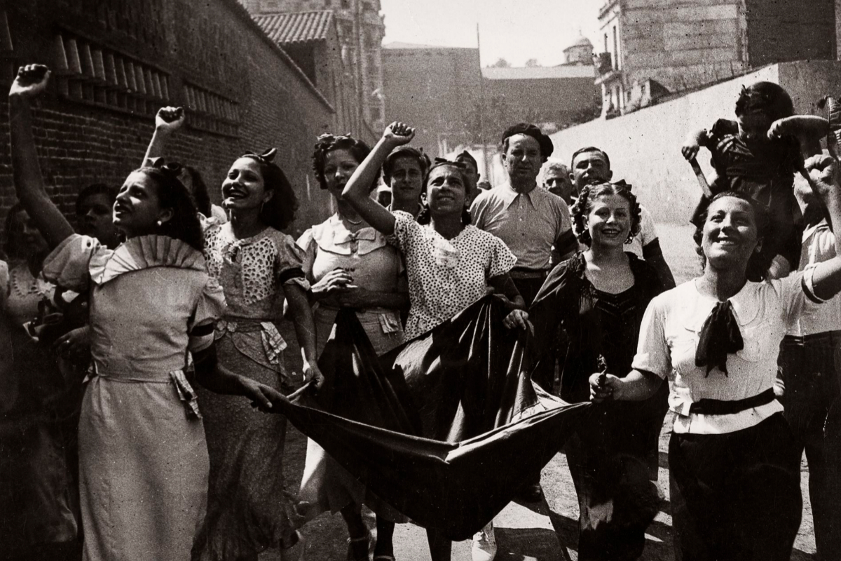 'Colecta para las víctimas del fascismo', 23 de agosto de 1936.
