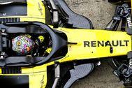 Ricciardo, durante los entrenamientos libres del GP de Austria.