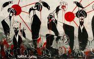 lt;HIT gt;Karrar lt;/HIT gt; lt;HIT gt;Sattar lt;/HIT gt;, artista de Irak amenazado de muerte por sus dibujos y cuadros