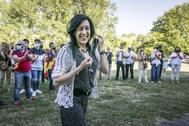 Amaia Martinez, cabeza de lista de Vox por Álava.
