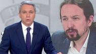 Vicente Vallés critica que Pablo Iglesias cite los insultos hacia él