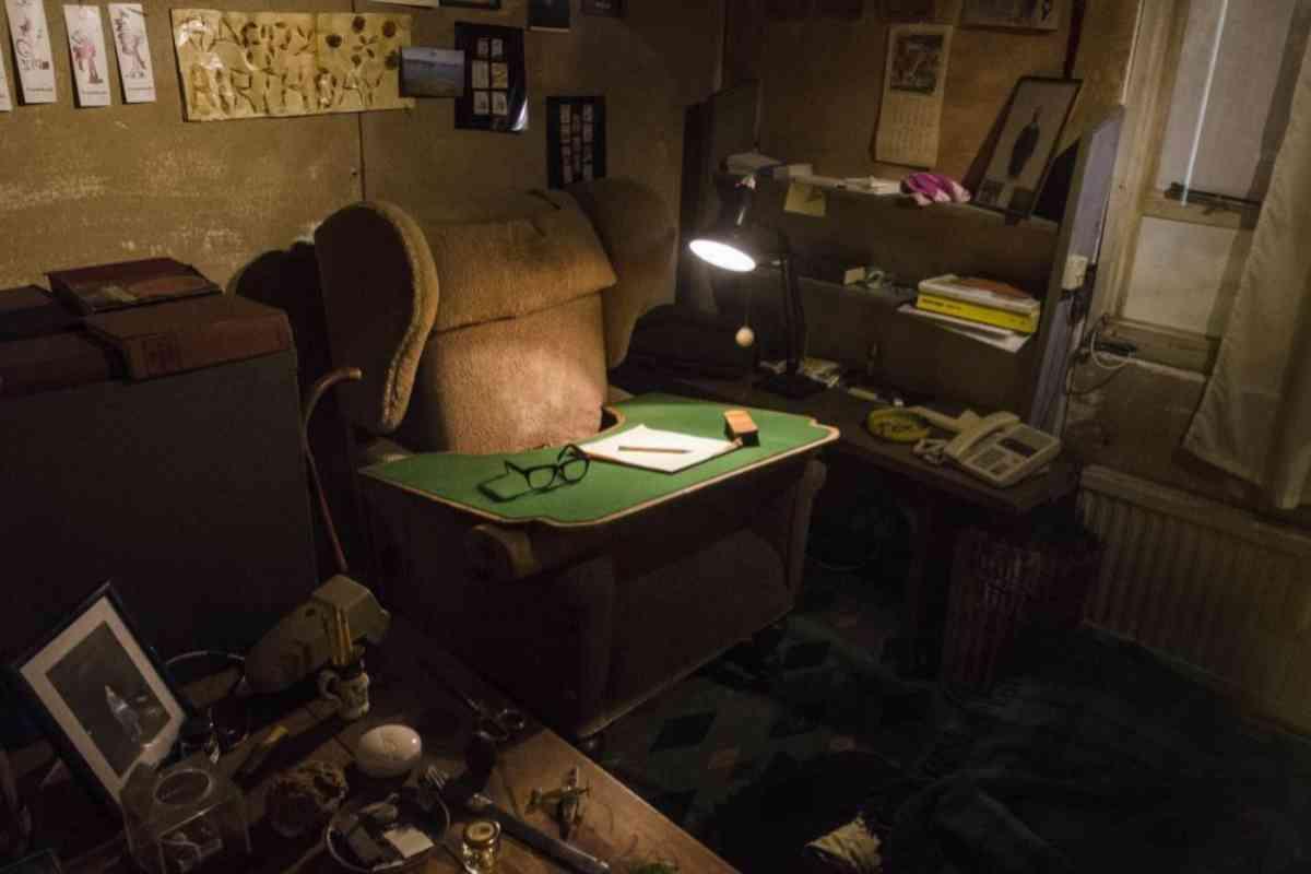 El sillón de escritura de Dahl.