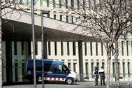Imagen de la Ciutat de la Justícia sede de la Fiscalía de Barcelona