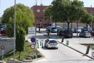 Acceso comisaría Guardia Urbana de Badalona
