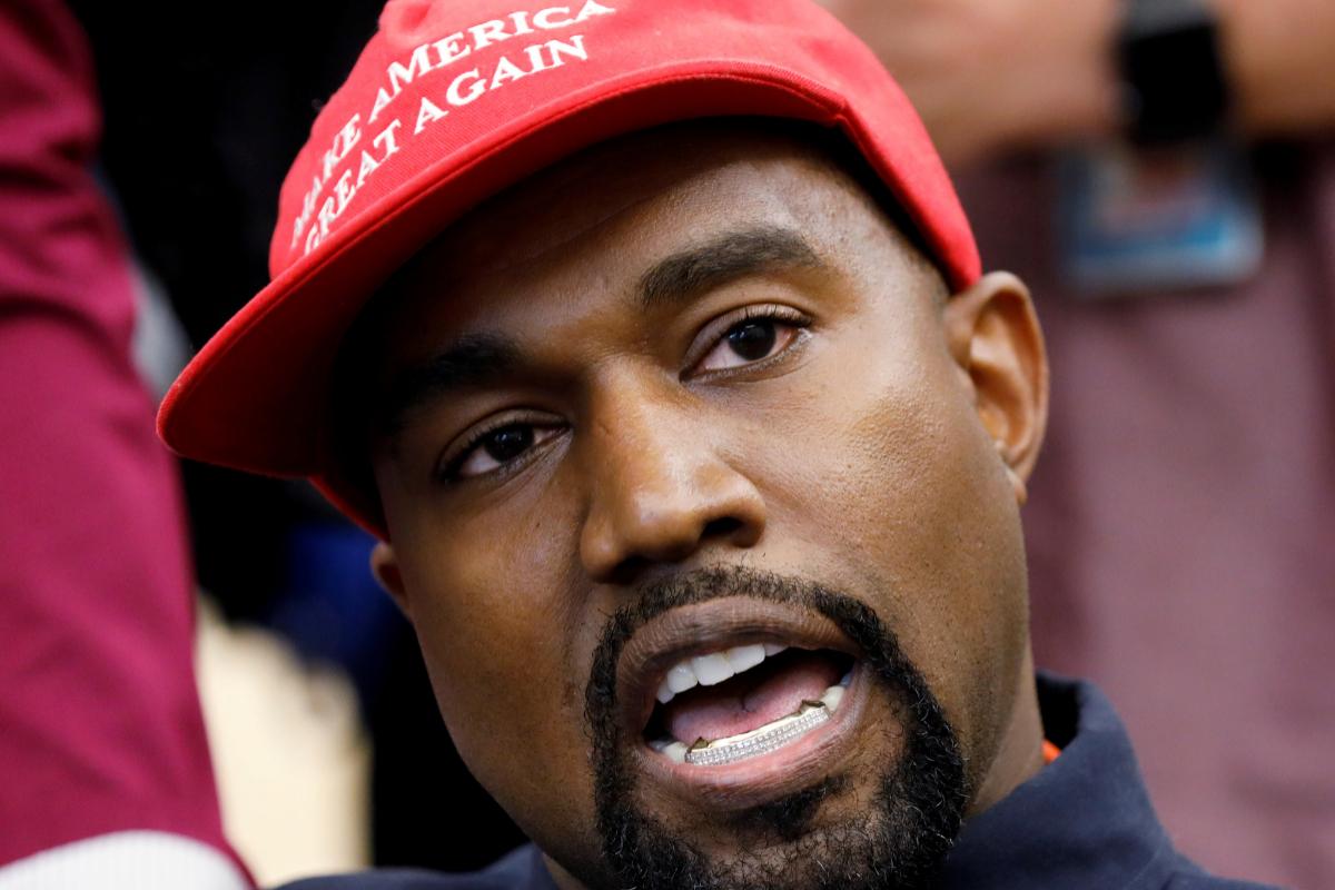 El rapero Kanye West anuncia que ya no apoya a Donald Trump y que tuvo coronavirus