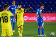 Cazorla celebra su gol al Getafe.