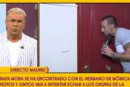 Rafa Mora trata de expulsar a los okupas de la casa de Mónica Hoyos